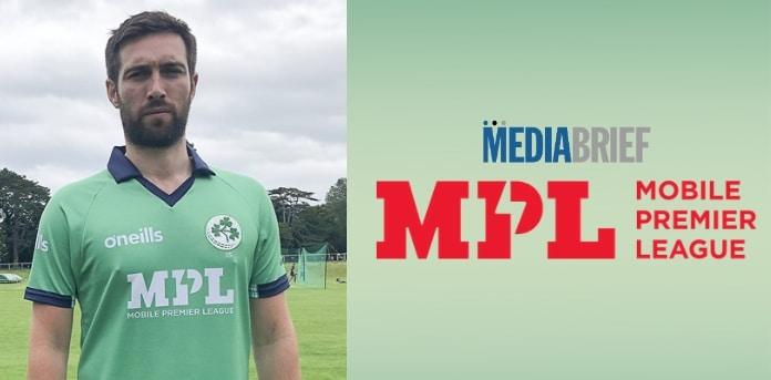 Mobile Premier League sponsors Ireland Men's cricket team jerseys