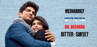 image-Movie-Review-Dil Bechara - MediaBrief-Gaurav Bhat