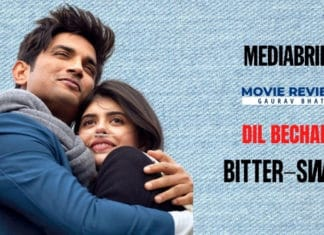 image-Movie-Review-Dil Bechara - MediaBrief-Gaurav Bhat