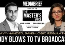 image-vivan sharan and farah bookwala on THE THE MASTER'S VOICE WITH PAVAN R CHAWLA MEDIABRIEF PODCAST EPISODE 14