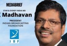 image-1- K Madhavan elected President of IBF - MediaBrief