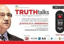 image-jpg-TruthTalks features Justice B N Srikrishna - MediaBrief