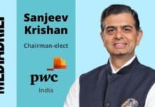 image-Sanjeev Krishan is Chairman-elect - PWC India - MediaBrief