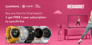Image-Garmin-smart-watch-on-Tata-CLiQ-free-subscription-to-Cure.Fit-mediabrief.png
