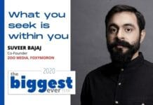 Image-Suveer Bajaj - Co-Founder Zoo Media & Foxymoron year-ender-mediabrief