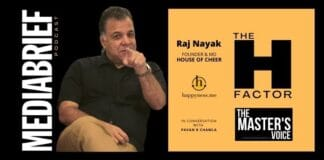 -mage-Raj Nayak of House Of Cheer in Podcast with Pavan R Chawla The Master's VOice MediaBrief